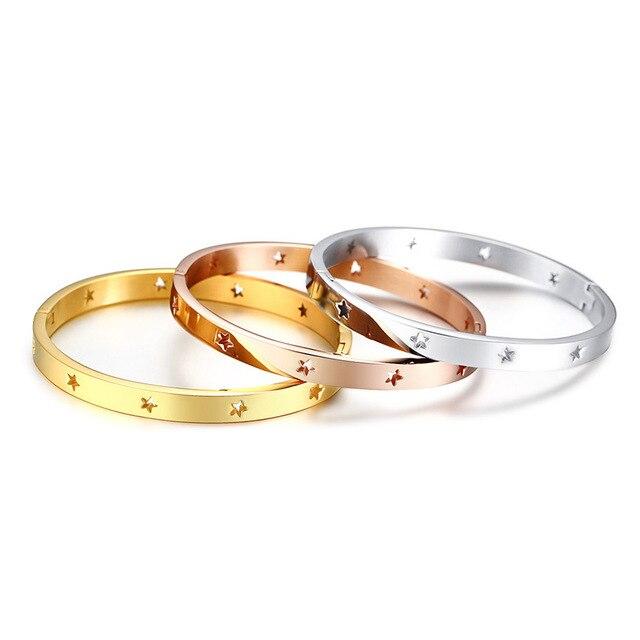Купить роскошные брендовые ювелирные изделия золотые браслеты для женщин