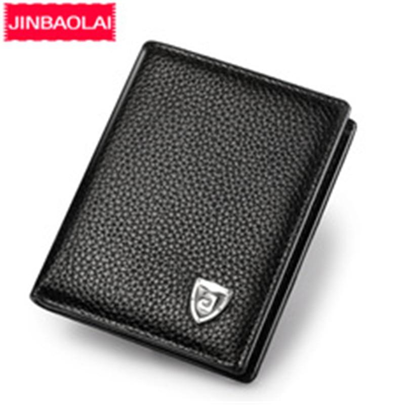 Small Slim Mini Genuine Leather Men Wallet Male Purse Thin Walet Cuzdan Vallet Money Bag For Card Holder Short Kashelek Partmone