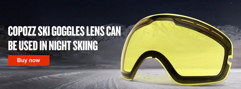 ski goggles lenses