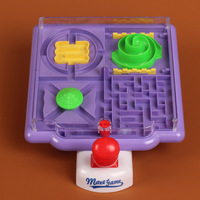 Marbles Three dimensional Game Maze Toy Hand eye Coordination Board Game Children's Educational Toys Gift