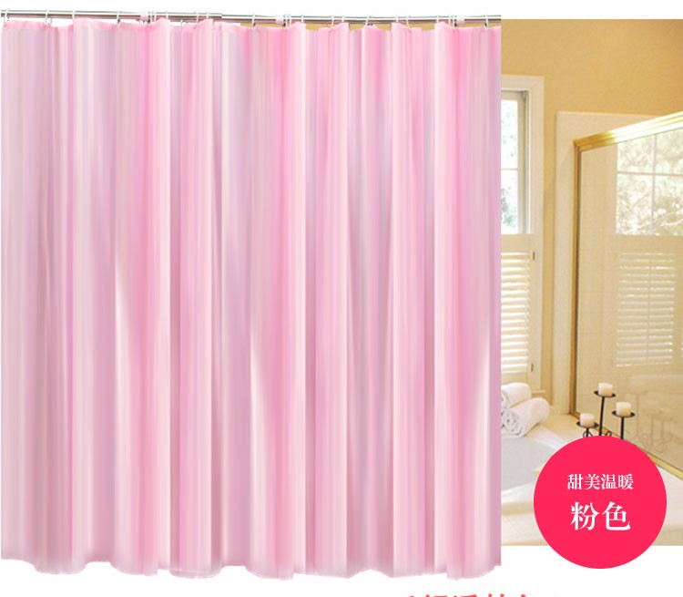 180*180 см ванная комната шторы водонепроницаемый mouldproof в полоску утолщенный душевой занавес с крючками полиэстер занавеска для ванны 5 видов цветов