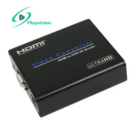 4Kx2K HDMI to VGA converter which will convert digital HDMI video and audio signal to VGA