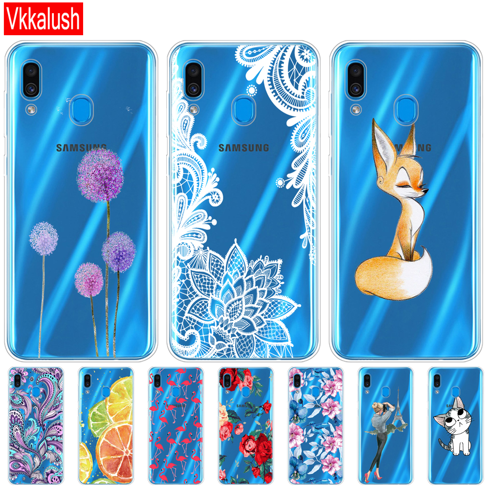 Case For <font><b>Samsung</b></font> <font><b>Galaxy</b></font> <font><b>A20</b></font> Case A20E Silicon TPU Back Cover For <font><b>Samsung</b></font> <font><b>A20</b></font> 2019 A205F A20E A202F Cover Protective Back Cover image
