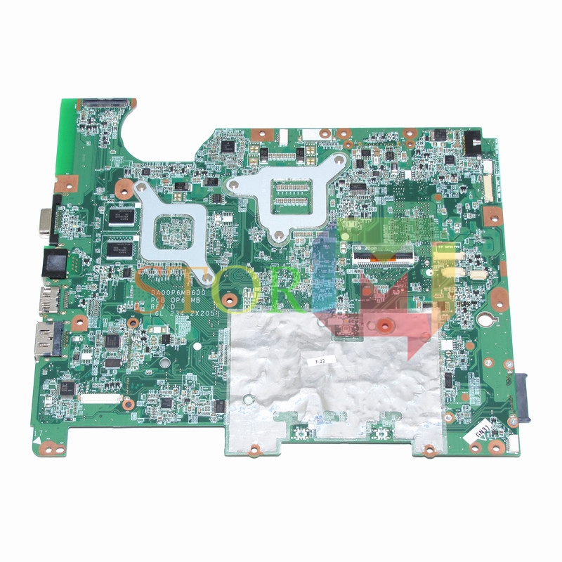 NOKOTION for HP CQ61 G61 laptop motherboard DA00P6MB6D0 513758-001 PM45 G130M DDR2 give cpu free 577997 001 da00p6mb6d0 for hp g61 cq61 motherboard gl40 ddr2 motherboard tested good free shipping