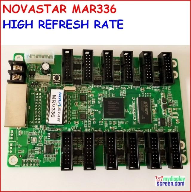MRV336 NOVASTAR קבלת כרטיס, רענון גבוה, גבוה אפור כיתה, תמיכת מקסימום 256x256