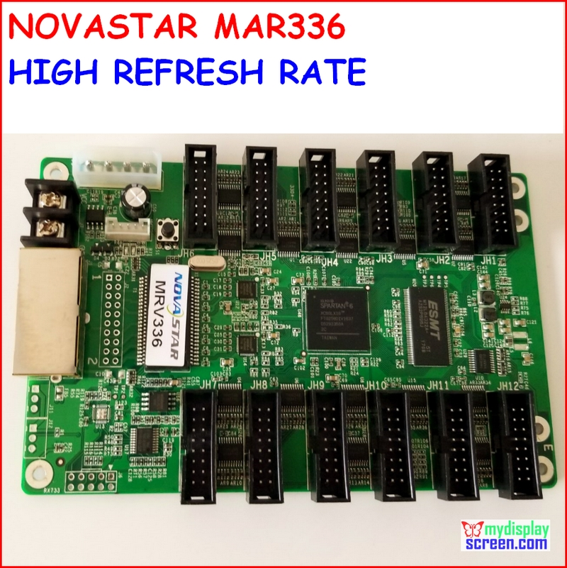 NOVASTAR Receiving Card MRV336,high Refresh, High Gray Grade,max Support 256x256