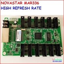 NOVASTAR karta odbiorcza MRV336, wysokiej odświeżania, wysokiej jakości szary, max wsparcie 256x256