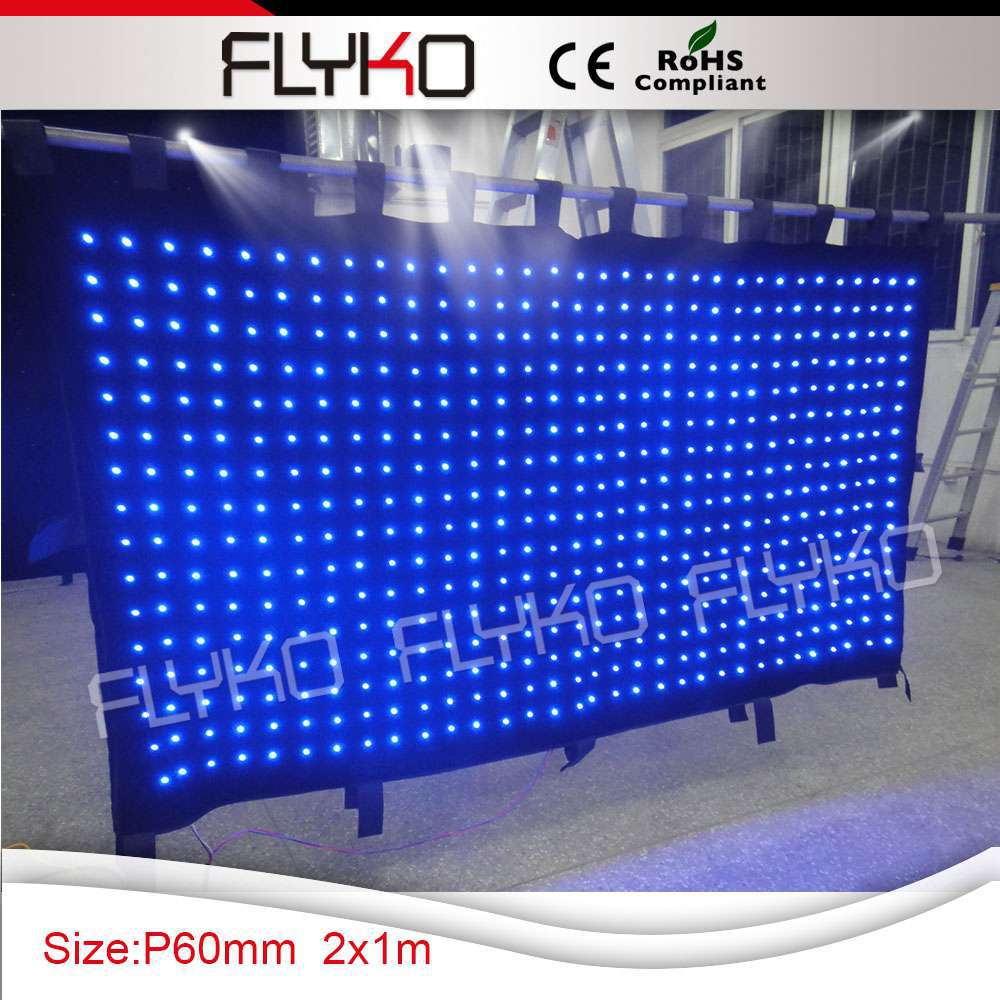 Free Shipping Disco Light Show Led Shower Curtain Video In Stage Lighting Effect From Lights On Aliexpress