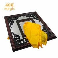 Silk Thru Mirror Silk Mirror Stage Magic Magic Prop Funny Magic Magic Tricks Gimmick