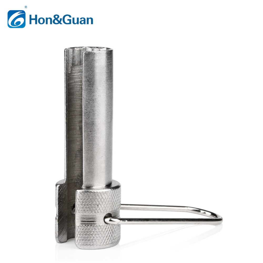 Hon&Guan 1pc CATV TV Security Shield Filter RG6 RG59 Coaxial Cable Wrench Sleeve Remove Tool