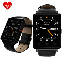 No. 1 D6 3G Smartwatch Android 5.1 MTK6580 Quad A Core 1.3 GHz 1 GB RAM 8 GB ROM 1.63 pulgadas WiFi Bluetooth Frecuencia Cardíaca GPS inteligente reloj