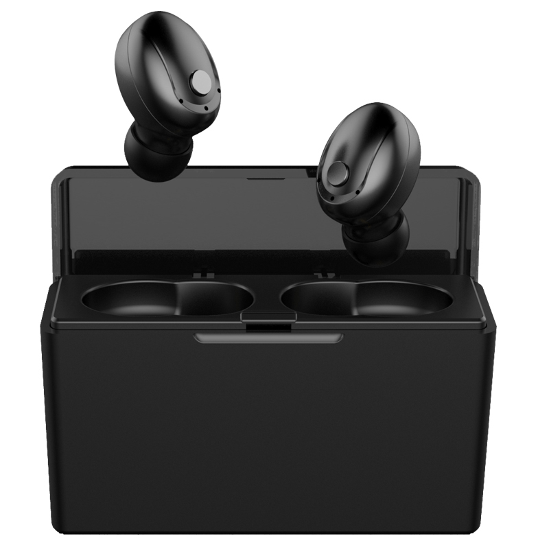 <font><b>Tws</b></font> <font><b>T5</b></font> Bluetooth headset with charging compartment 2300 mAh can charge mobile phone long battery life business wireless earbuds image