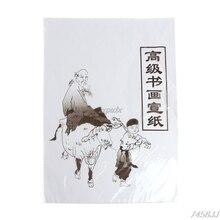 30 шт. белая бумага для рисования Xuan рисовая бумага китайская живопись и каллиграфия 49x34 см/35x26 см Прямая поставка