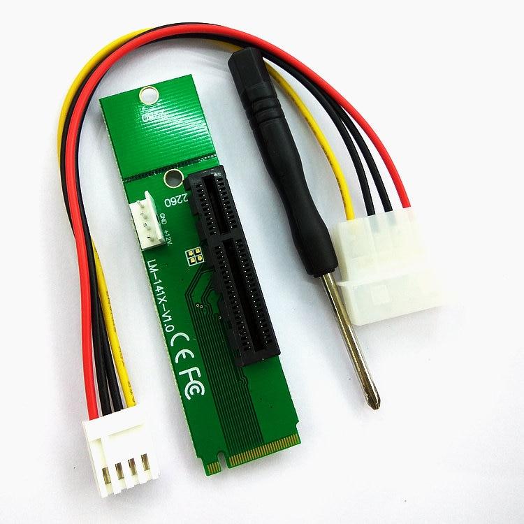 M.2 B Key to Dual 20Pin USB Header Adapter M key NGFF to 2 Port 19 Pin Female