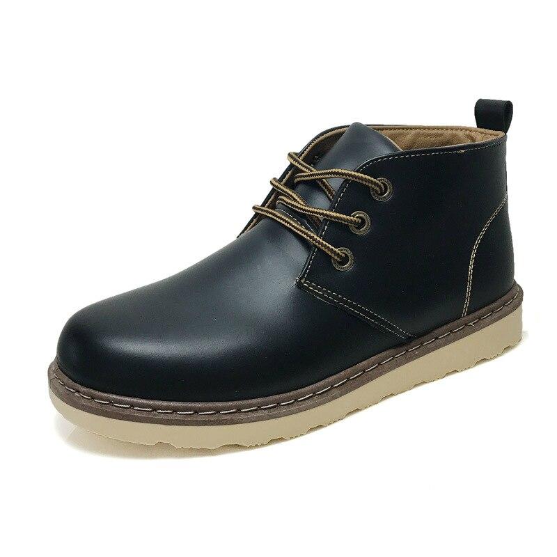 Новый Для мужчин's ботинки martin Ботильоны Мода Англия Высокая Повседневная обувь осень-зима человек открытый классический ретро бестселлеры