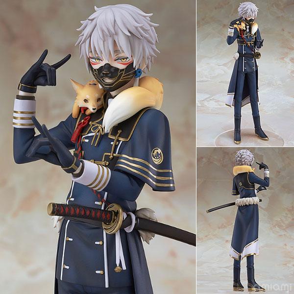 Touken Ranbu Online Nakigitsune 1/8 Scale Pre-painted Figure Collectible Model Toy 20cm touken ranbu online tsurumaru kuninaga 1 8 complete figure figurine 22cm