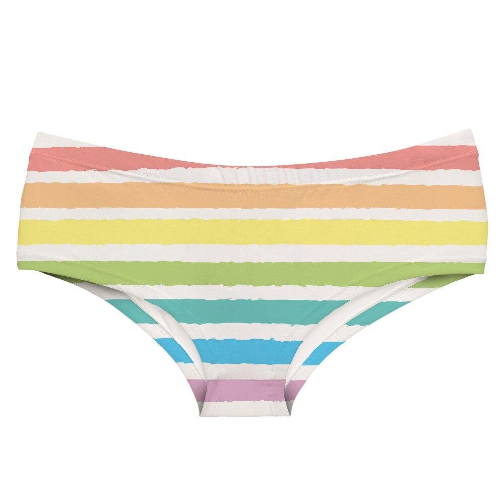 192aaa786 LEIMOLIS ÍRIS PINTURA impressão engraçado kawaii Linda lingerie sexy hot  calcinha feminina empurrar para cima cuecas mulheres lingerie thongs