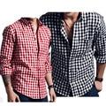 En la primavera de 2016 Camisa de Manga Larga de los hombres Jóvenes camisa de franela lijar tendencia de comercio exterior de los hombres