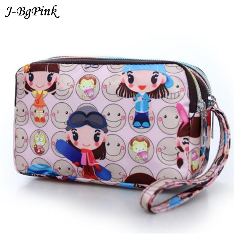 makeup case Harajuku style  Pencil Case purse PINK Makeup Coin Pouch  Holder Pouch Purse bolsa feminina sac Estojo Bag modella personal purse case pink polka dots 2 count