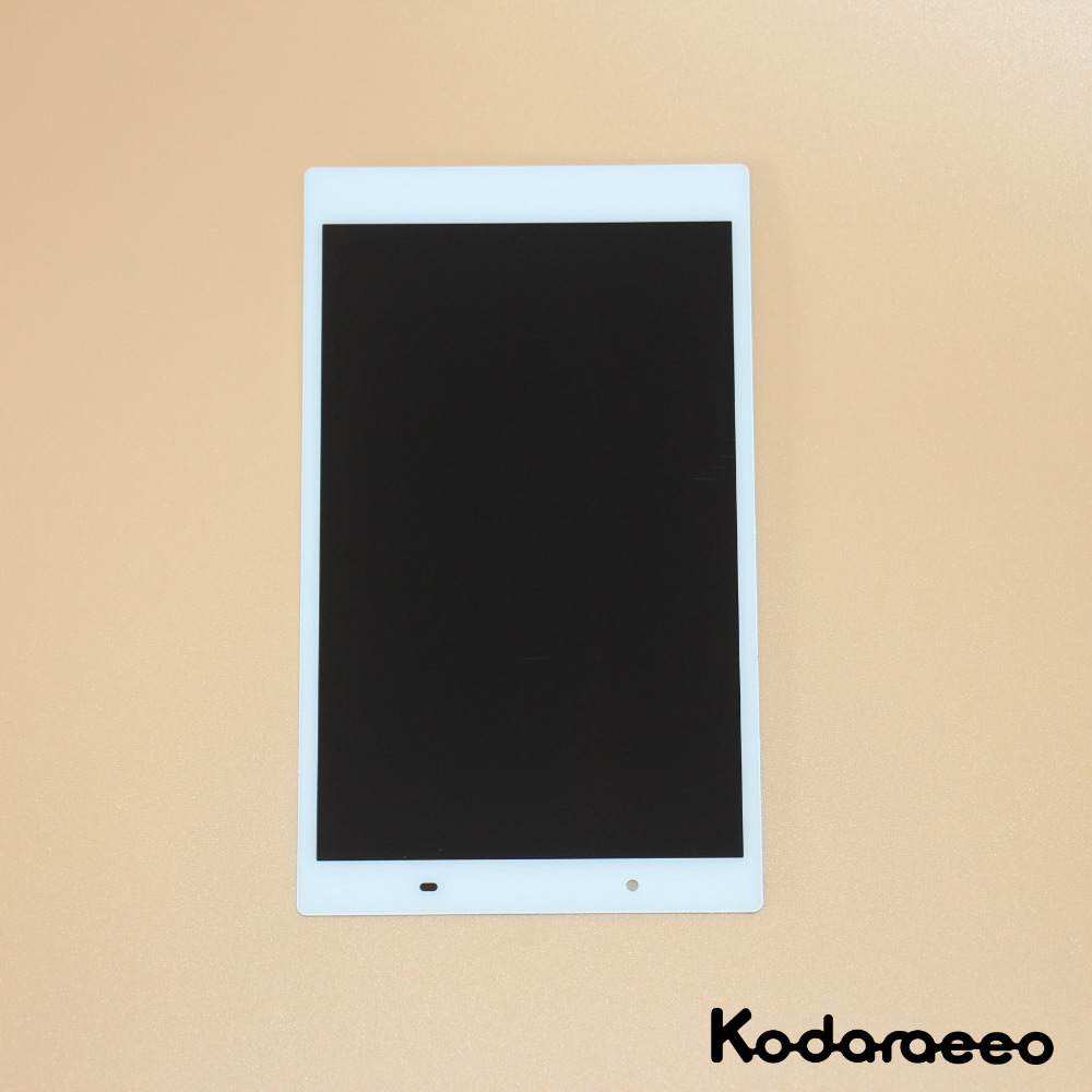 kodaraeeo For Lenovo Tab 4 8.0 8504 TB-8504X TB-8504F Touch Screen Digitizer Glass+LCD Display Assembly Panel Replacement White for lenovo s580 lcd touch display screen high quality digitizer screen panel assembly replacement for lenovo s580