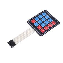 Новая 4*4 система матриц/Матрица клавиатуры 16 Ключ мембранная клавиатура для arduino 4X4 Матрица клавиатуры