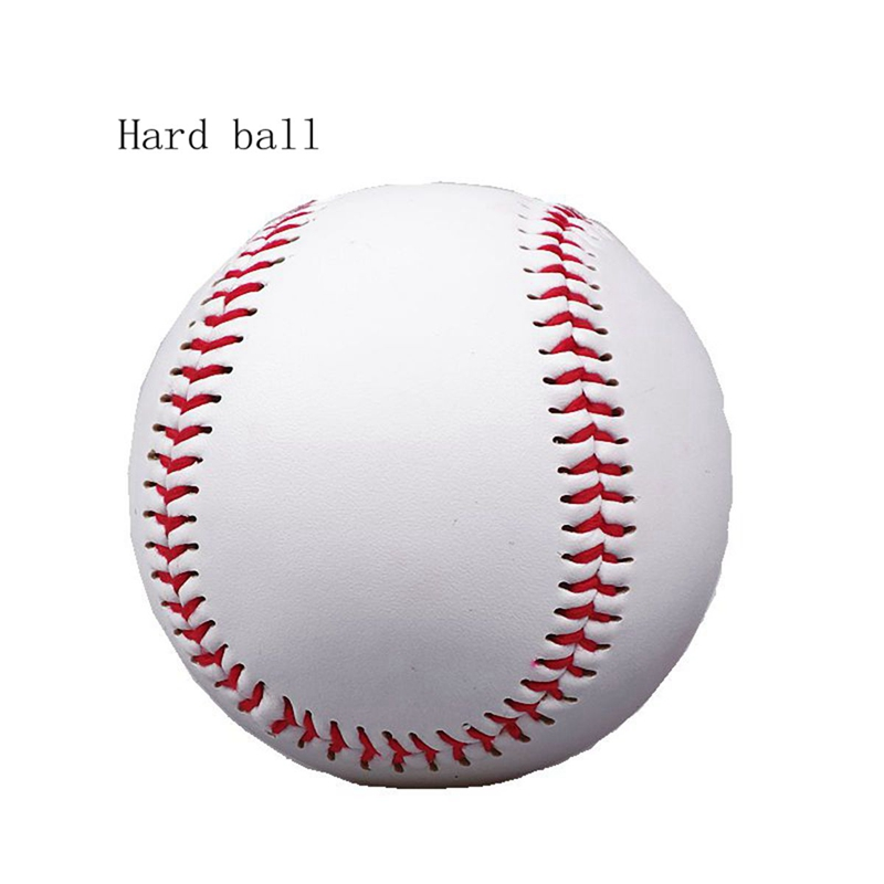 "1 Pc 9""Handmade Men Baseball Practice Training Exercise Ball PVC Softball and Hardball Outdoor Sport hand Sewing Team Game Balls"