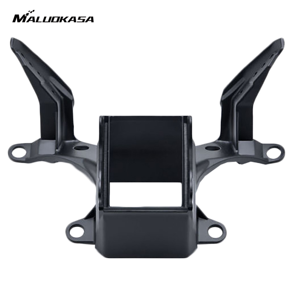 MALUOKASA Motorcycle Upper Front Fairing Cowl Stay Headlight Bracket For Yamaha YZF R6 2008 2009 2010 2011 2012 2013 2014 Moto for 2008 2012 cbr1000rr aluminum upper fairing stay bracket for 2008 2009 2010 2011 2012 china motorcycle part accessory