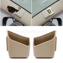 2 adet evrensel araba oto aksesuarları gözlük organizatör saklama kutusu tutucu 3 renkler
