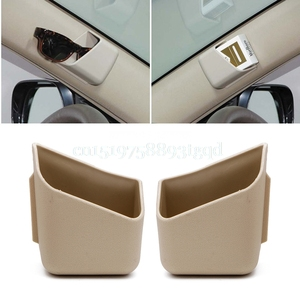 Image 1 - 2Pcs Universal Car Auto Accessories Glasses Organizer Storage Box Holder 3 Colors