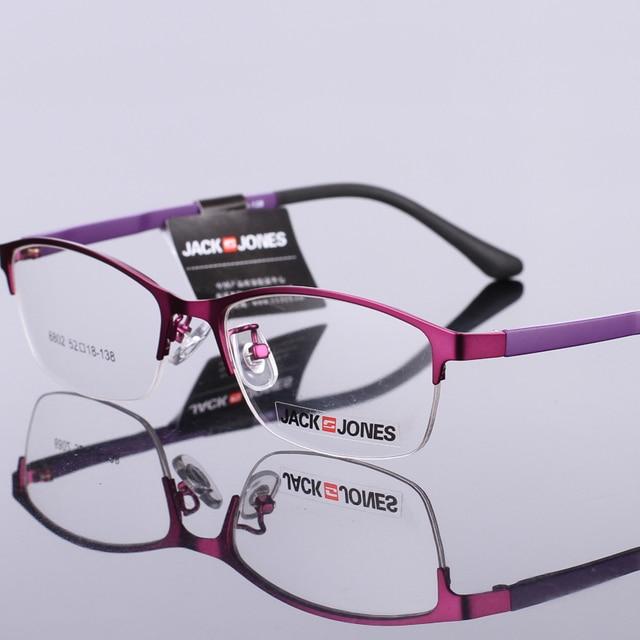 31265cbcd06 Women  s models of metal optical frames and frames semi - frame ultra -  light