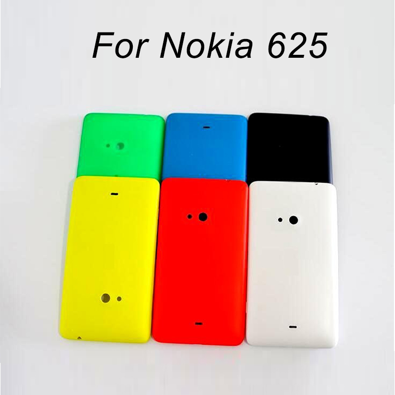Best Quality Rear Cover For Nokia 625 Back Battery Door Housing For Microsoft Lumia Nokia 625 Back Cover Case + 1pcs Screen Film