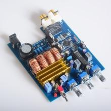 K. GUSS LM1036 Clase D 2.0 TPA3116 Tablero Del Amplificador de ALTA FIDELIDAD de audio Bluetooth CSR4.0 Ajuste de graves y Agudos Audio Amp 50 W * 2