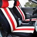 Alta Calidad logo Cubierta de Asiento de Coche de asiento de coche Universal Delantero y Trasero completo 5 Asientos para audi a1 a3 a4 a5 a6 a8 q3 q5 q7 Cuatro Estaciones