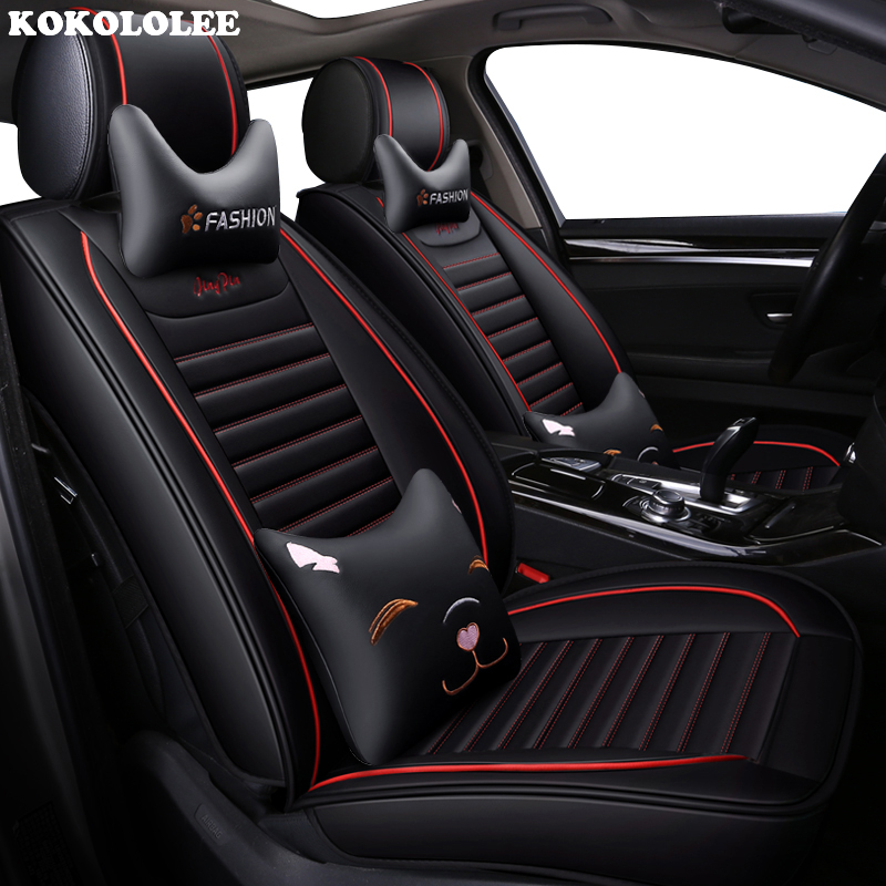 KOKOLOLEE auto car seat cover for nissan note juke qashqai j10 almera n16 x trail t31