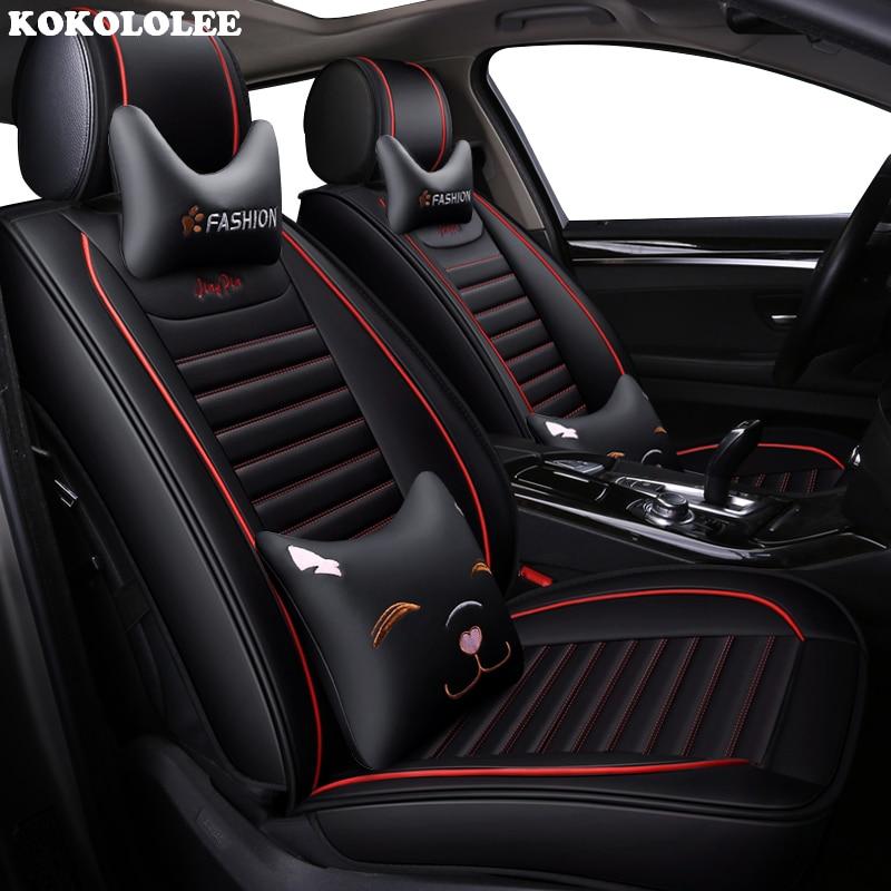 KOKOLOLEE auto car seat cover pour nissan note juke qashqai j10 almera n16 x-trail t31 navara d40 murano teana j32 primera