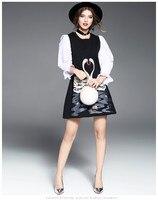 ALI1710222 Hot koop Nieuwe Mode Vrouwen 2017 Zomer Jurk Populaire Merk Mode Ontwerp Vintage Vrouwen jurken Party stijl jurk