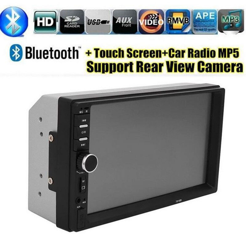 Image 5 - 7 Inch Car MP4 MP5 Players Bluetooth Central MultimediaTouch Screen With Night Vision Rear View Camera Auto Radio Video Player-in Car MP4 & MP5 Players from Automobiles & Motorcycles
