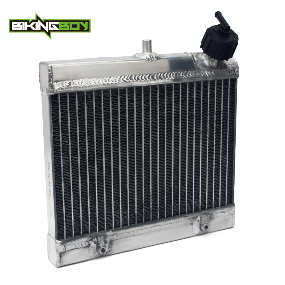 BIKINGBOY Aluminium Core MX Offroad Motorcycle Engine Radiator Water Cooler Cooling for <font><b>KTM</b></font> FREERIDE 250R <font><b>350</b></font> <font><b>2014</b></font> 2015 2016 image