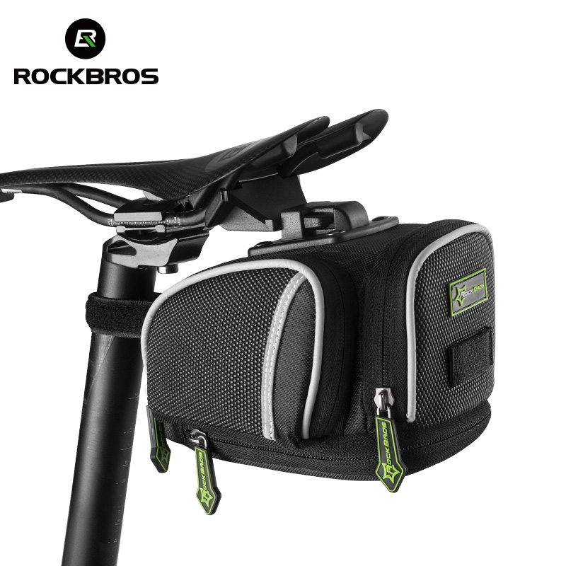 ROCKBROS Road Bike Bicycle Saddle Bag Portable Cycling Outdoor MTB Seat Post Bag Basket Adjustable bike riding Fixed Gear Fixie bicycle cycling bike vader road offroad mtb bicycle cycling saddle seat black