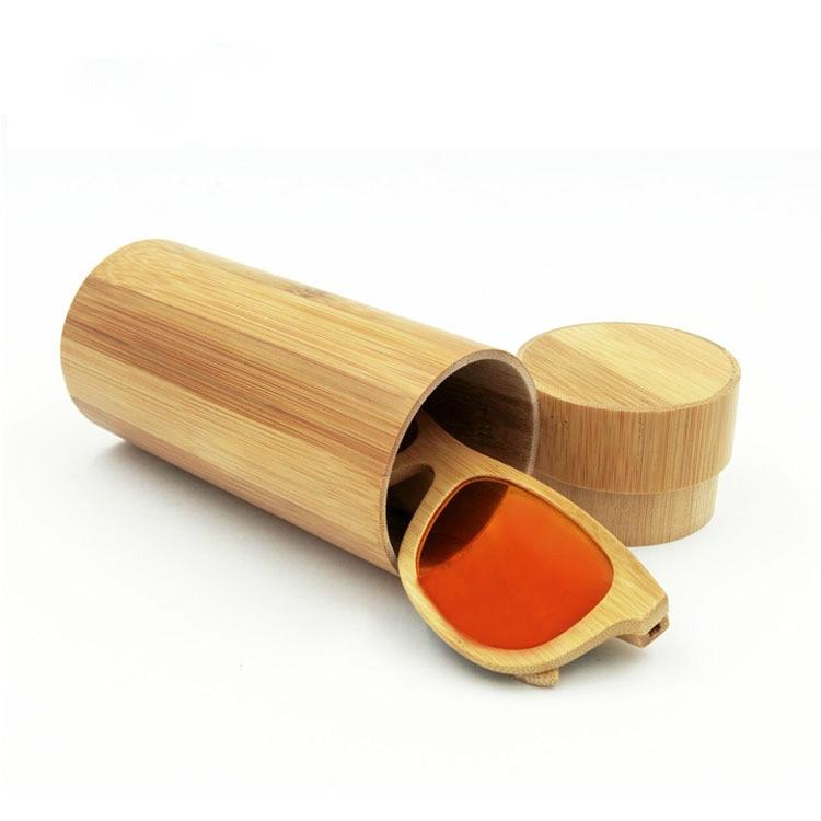 Gut Ausgebildete 1 Stücke High-end-hand Made Gläser Box Natürliche Retro Bambus Zylinder Männer Und Frauen Spektakel Fällen Online Rabatt