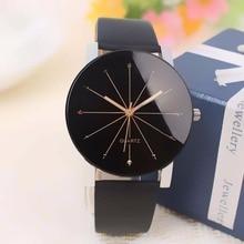 גברים/נשים מקרית אופנה אנלוגי קוורץ חיוג שעה שעונים דיגיטליים שעון יד עור מקרה עגול Relogio Reloj Mujer Feminino