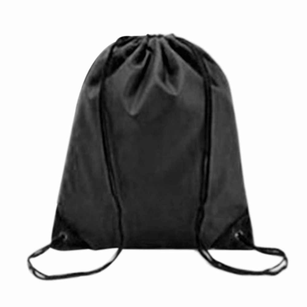 f2296ad8b38a ... Waterproof Swimming Gym Bags Drawstring Beach Shoe Bag Black Packagng  Sport Backpack Swim Dance Bag 4 ...