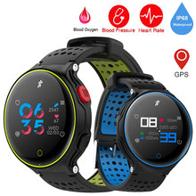 GEJIAN Smart Watch Men's Blood Pressure Oxygen Fitness Sports Smart Bracelet IP68 Waterproof Bluetooth GPS Tracker Heart Rate(China)