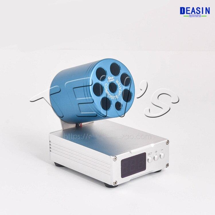 2019 nouvel instrument dentaire de corps en aluminium d'adoucissant de résine de réchauffeur d'agar de réchauffeur de résine