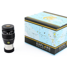 New Explore Scientific Extreme Wide Field 82 degrees Series, 4.7mm Waterproof Eyepiece, 1.25″ Barrel