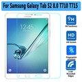 """Высокое Качество Utral Тонкий Закаленного Стекла для Samsung Galaxy Tab S2 8.0 T710 T715 Sreen Протектор для Samsung Tab S2 8.0 """"протектор"""