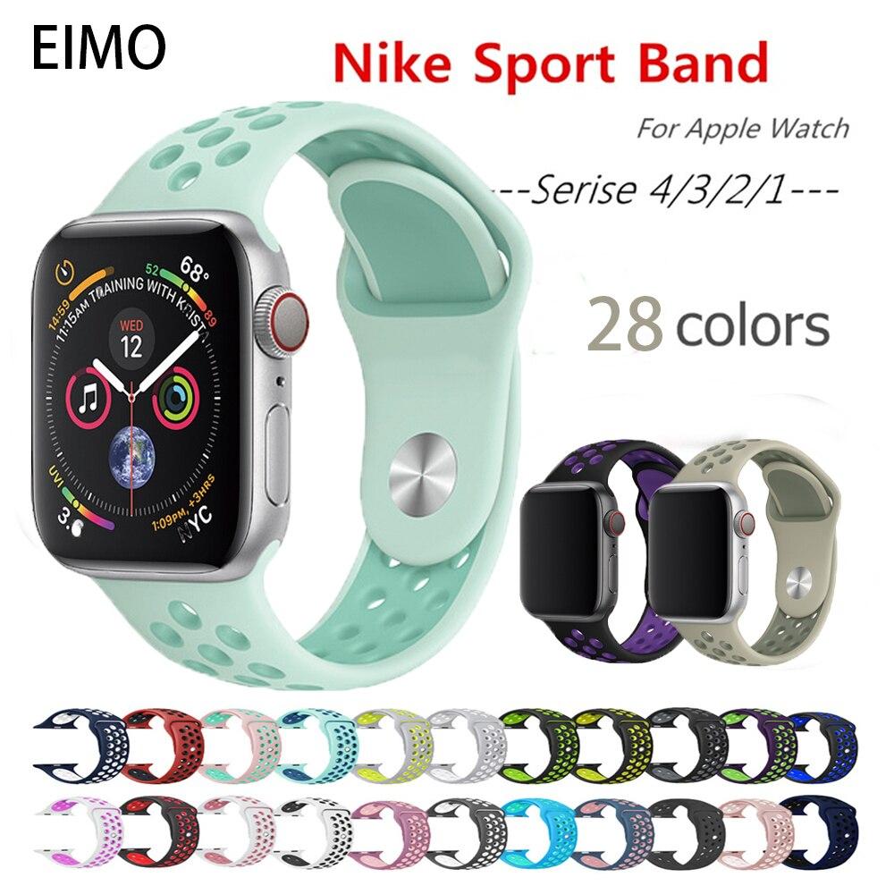 Gut Ausgebildete Strap Für Apple Watch Band Apple Watch 4 3 Iwatch Band 42mm 38mm 44mm 40mm Zubehör Armband Sport Silikon Pulseira Correa Uhren
