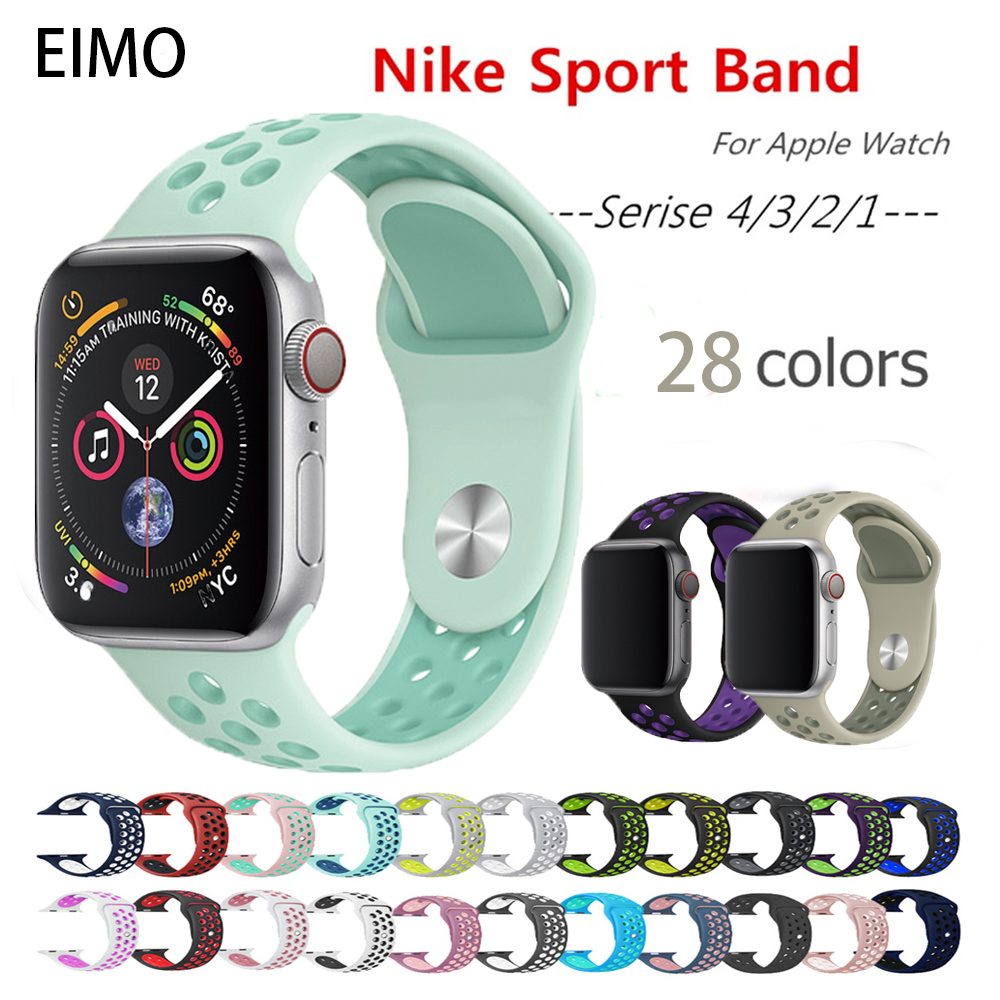 Strap for apple watch band apple watch 4 3 iwatch band 42mm 38mm 44mm 40mm Accessories bracelet sport Silicone pulseira correaStrap for apple watch band apple watch 4 3 iwatch band 42mm 38mm 44mm 40mm Accessories bracelet sport Silicone pulseira correa