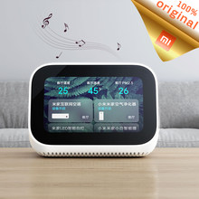 Original Xiaomi AI Touch Screen Bluetooth 5.0 Speaker 3.97 inch Digital Display Alarm Clock WiFi Smart Connection Mi Speaker(China)
