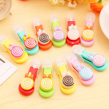 12PCS  Cute Lollipop style Nail Clippers princess party baby shower favors baptism gifts souvenirs